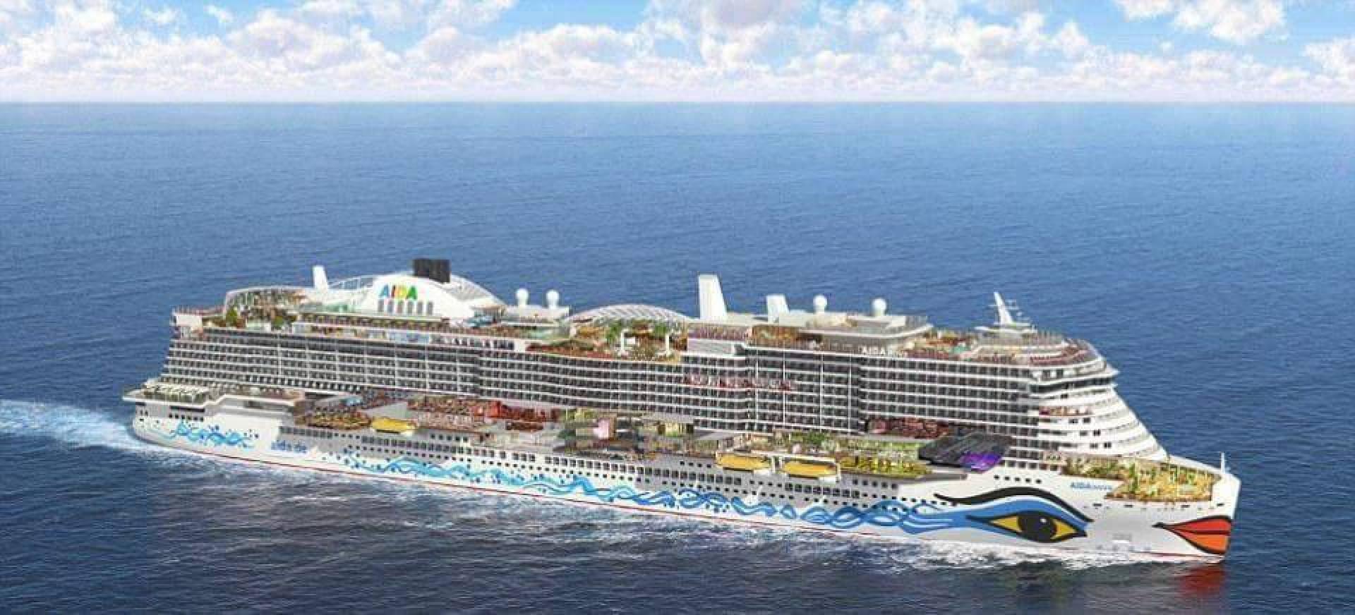 تضم 17 مطعماً و23 باراً و20 طابقاً.. إطلاق أكبر سفينة سياحية في العالم