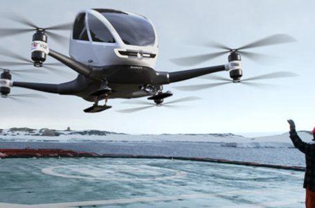 دبي تختبر طائرة ذاتية القيادة لنقل الركاب